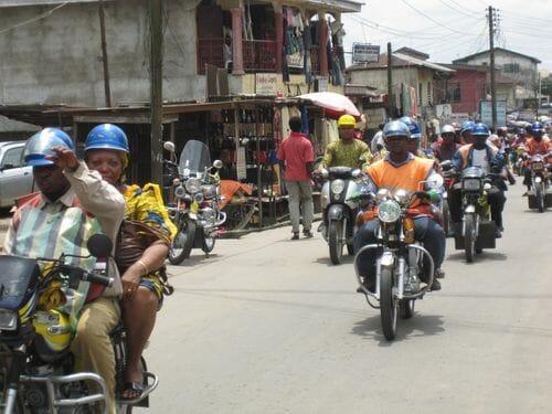 Photo of Okada ban sparks riot in Iyana-ipaja