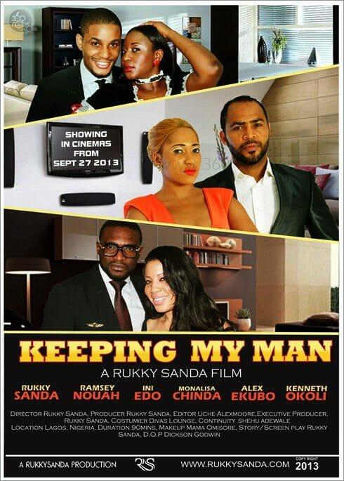 Keeping My Man poster