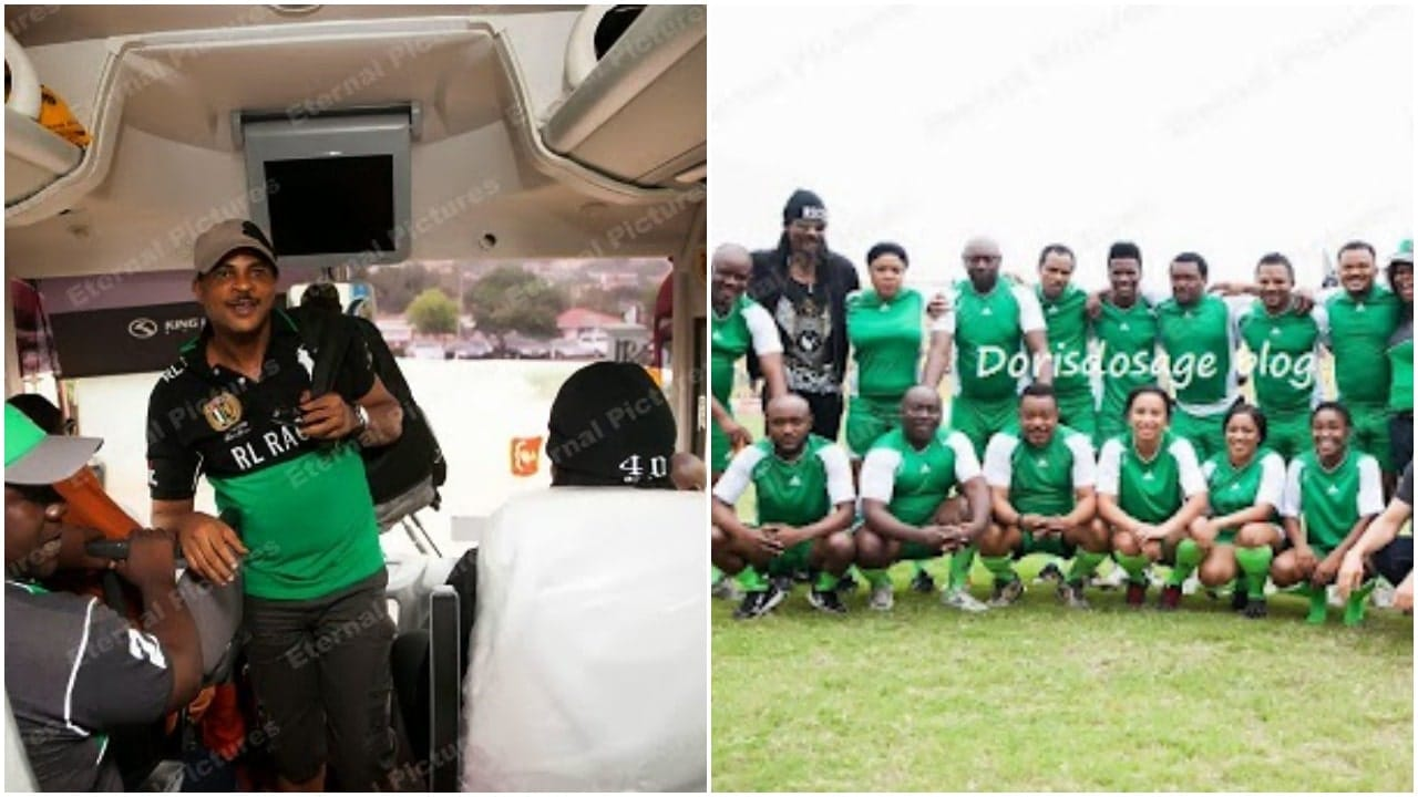 Ghollywood versus Nollywood football match