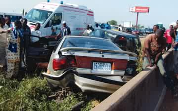 Photo of Nine feared dead on Lagos/Ibadan Expressway accident