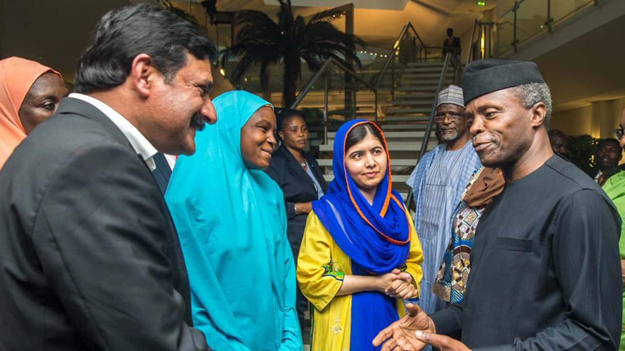 Malala visits Nigeria