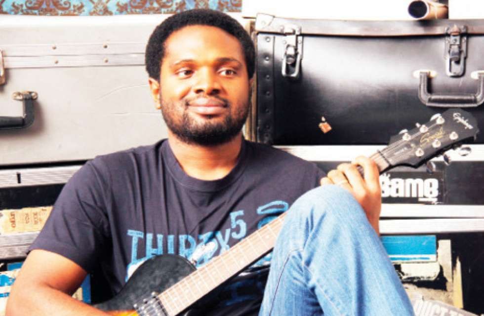 Photo of Cobhams Asuquo's wife opens up on giving birth to a blind son and raising him (photos)