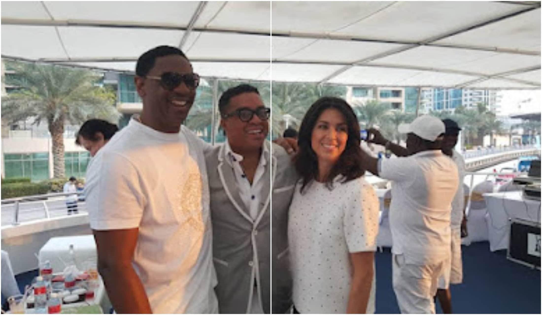 COZA pastor Fatoyinbo's all-white Yacht birthday