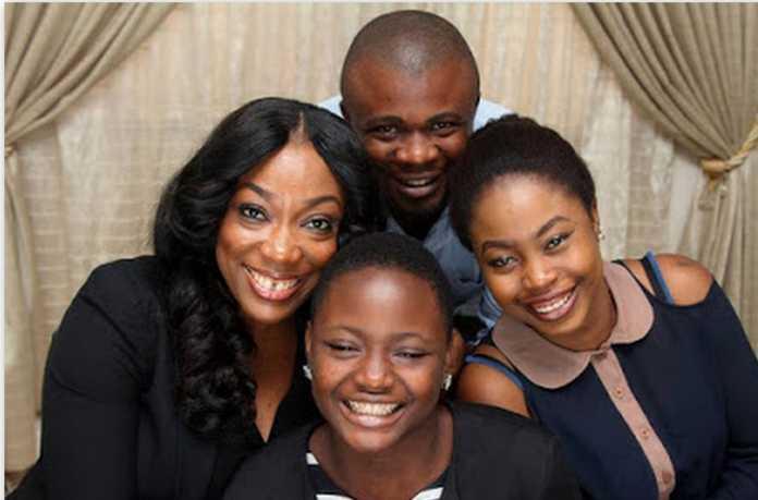 Uzoamaka Chukwu and her new family