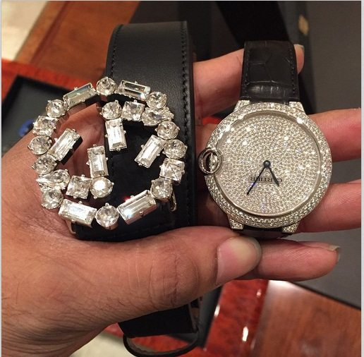 Image result for oap freeze shows off his wrist watched