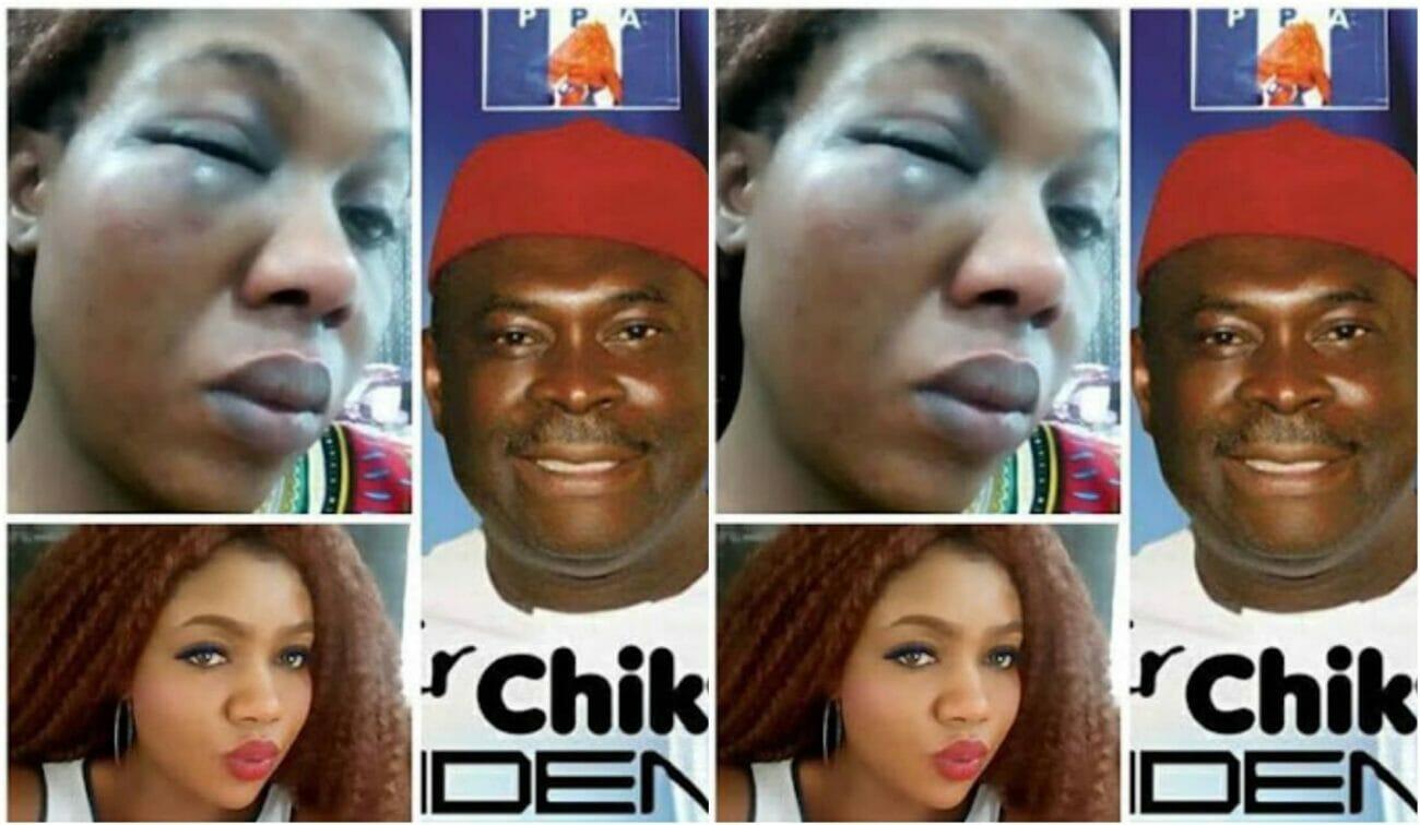 Dinma Udensi, battered wife