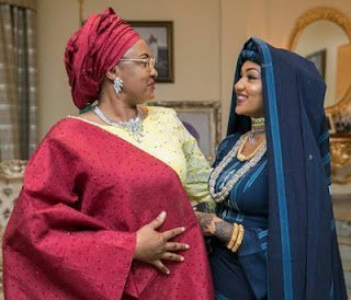 Photo of Buhari's Daughter, Zahra honors him with son's name