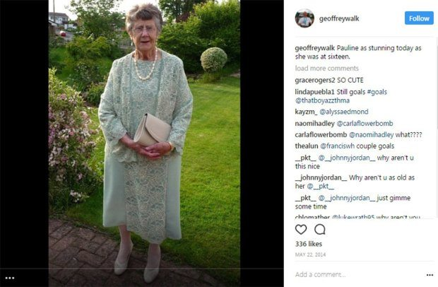 Meet the 86-year-old man whose Instagram is filled with adorable posts about his wife