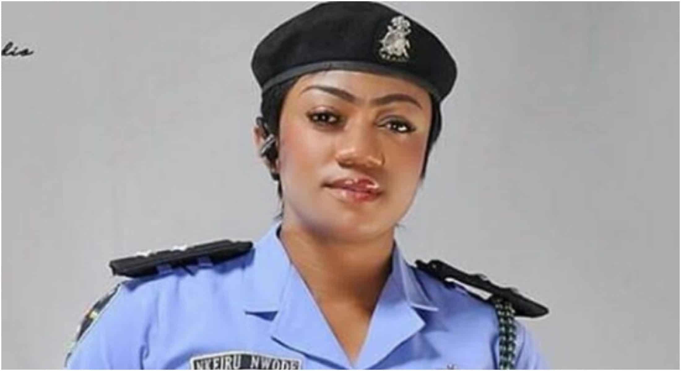 Beautiful officer, Nkeiruka Nwode