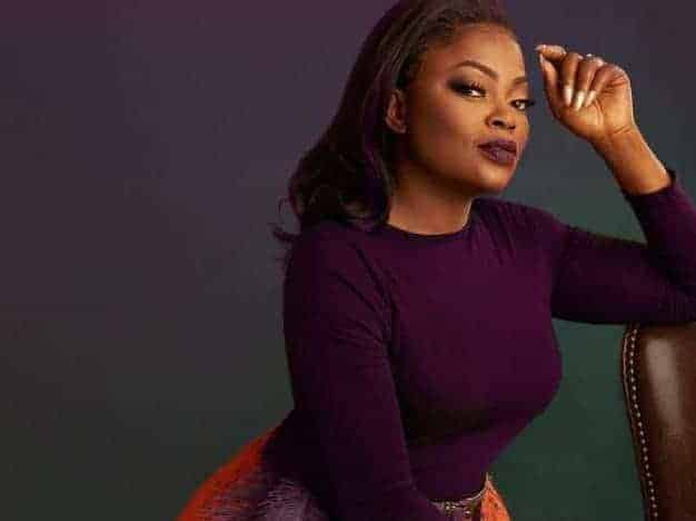 Photo of Funke Akindele shares new photos after Bishop criticized her for being absent at Dad's burial