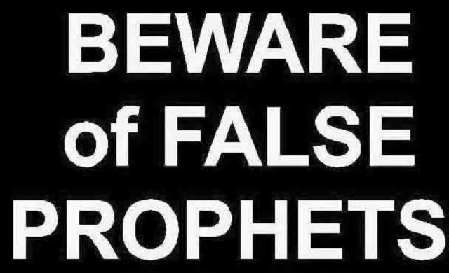 False prophets are becoming rampant in Nigeria