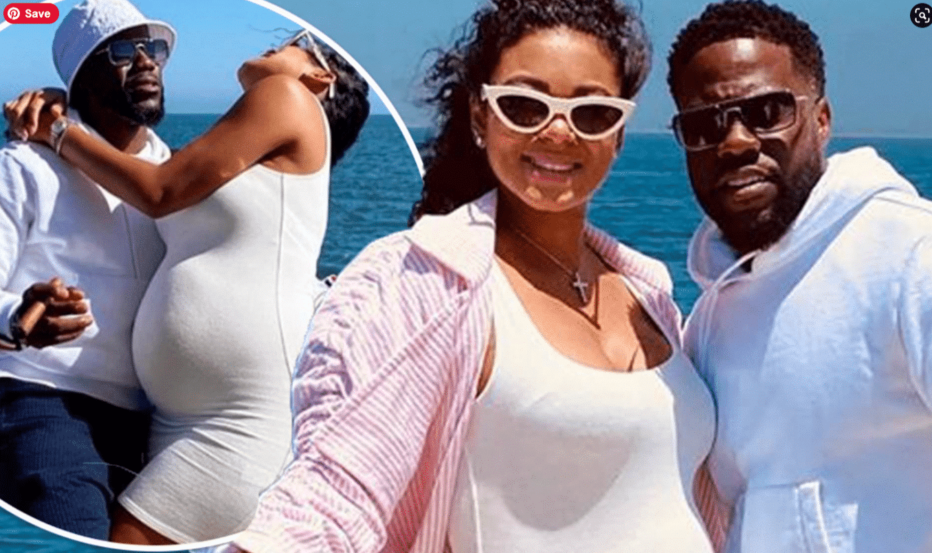 Kevin Hart's pregnant wife steps out