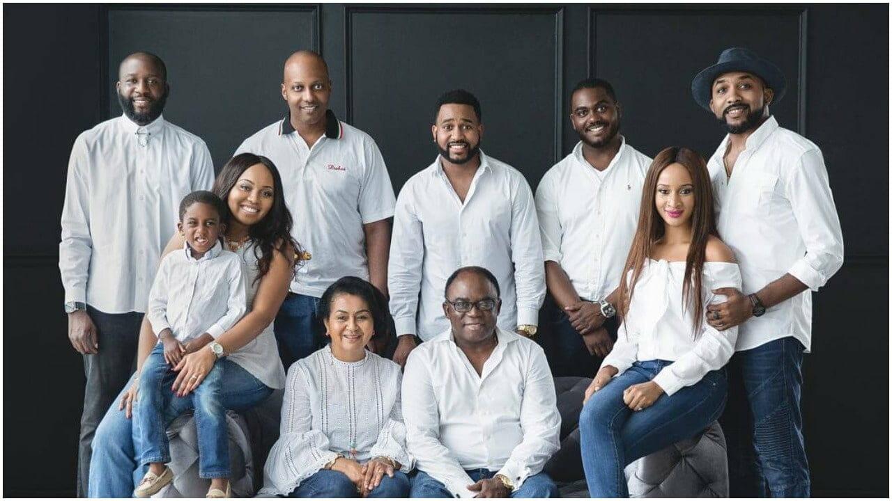 New family portrait of Adesua Etomi