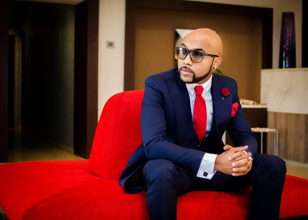 Photo of Banky W is still having pains from his skin cancer surgery