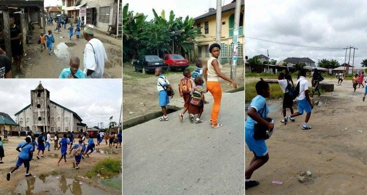 Photo of Monkeypox Rumors: Panic in Rivers state as Parents rush to school to take their children home (photos)