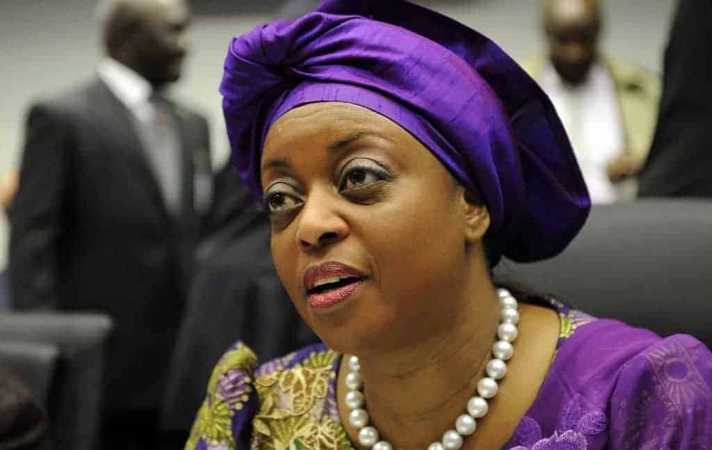 Photo of Diezani Alison-Madueke spotted at an African store in London today (photos)
