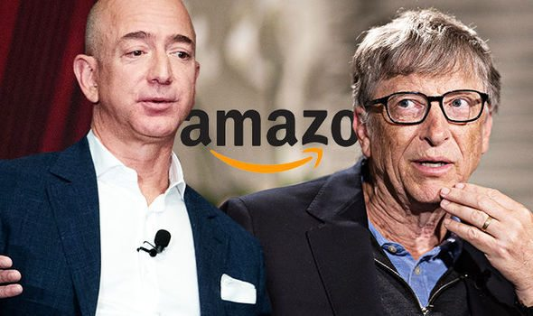 Image result for bill gate  amazon owner