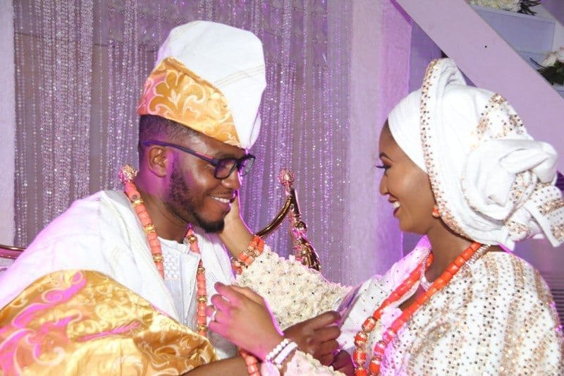 """Photo of """"Don't Allow Third Party In Your Marriage"""" Ooni Of Ife Tells Mimiko's Daughter"""