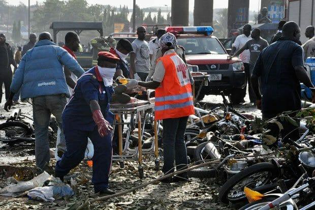 Image result for bomb explosion Nigeria