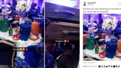 Photo of Checkout souvenirs shared at a Nigerian wedding (photos)