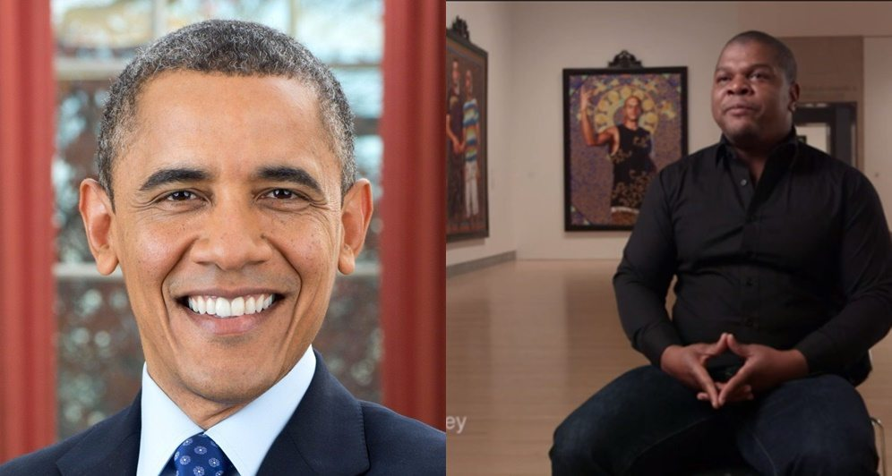 Photo of Barrack Obama Picks Nigerian Artiste, Kehinde Wiley To Paint His Official Portrait