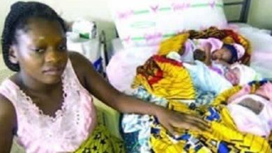 Photo of Teenage Undergraduate gives birth to a set of triplets in Cross River State (photos)