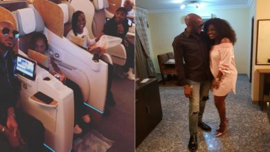 Photo of 2face Idibia, Annie And Their Kids Jet Out To Dubai For A Birthday Vacation (Photos)
