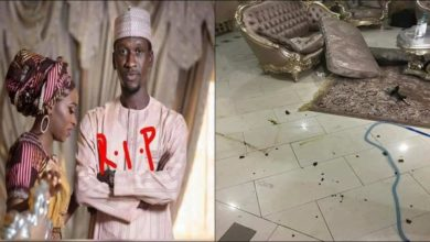 Photo of Home of Bilyaminu Bello the night he was stabbed to death by his wife (photos)