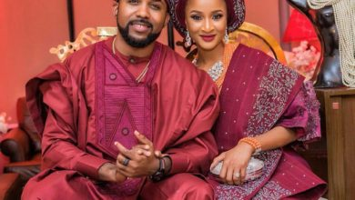 Photo of Read Banky W's reaction to Adesua Etomi's visit to Big Brother house