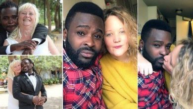 Photo of 28-year-old Guvnor Ace dumps his 68-year-old White wife, for a younger lover