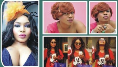 Photo of Halima Abubakar slams troll who called her a shapeless amoeba