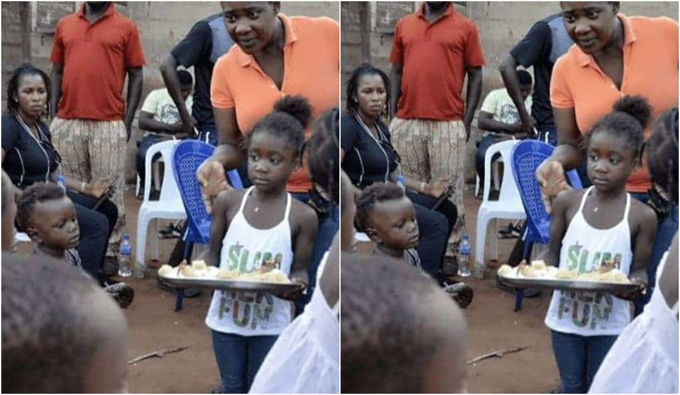 Mercy Johnson & Her Daughter, Purity, Visit Orphans