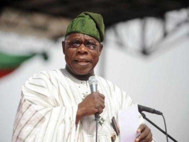 Photo of Obasanjo's letter to Buhari now on sale in Abuja (photos)