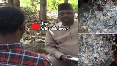 Photo of One of Ikoyi whistleblower as he speaks on how he discovered the money