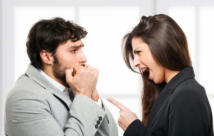 Image result for man and woman fight