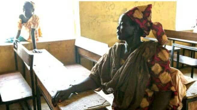 READ HOW THIS HAUSA MOTHER FAKED MADNESS TO SAVE HER DAUGHTER FROM BEING CAPTURED BY BOKO HARAM SOLDIERS
