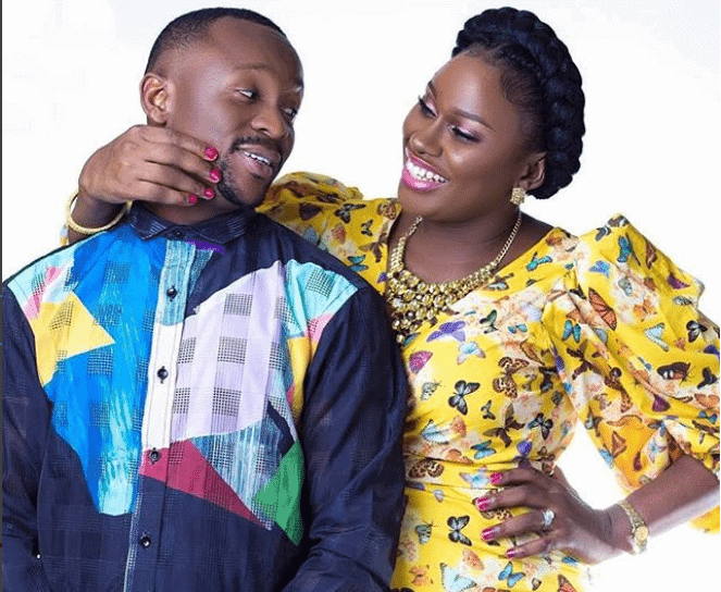Ushbebe and wife Annette