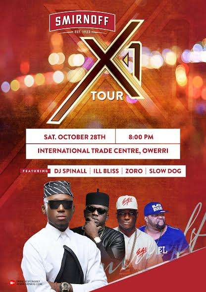 Smirnoff announces nonstop epic nights with the 'Smirnoff X1 tour'