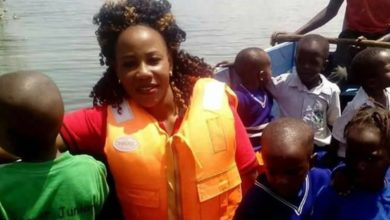 Photo of School teacher trends online for putting On A Life Jacket While Her Pupils Are Left Unprotected