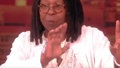 Photo of Whoopi Goldberg reveals that a man can hit women in certain situations