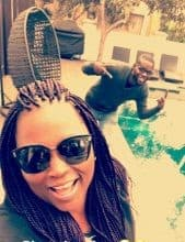 Photo of Funke Akindele is all smiles in new vacation photo