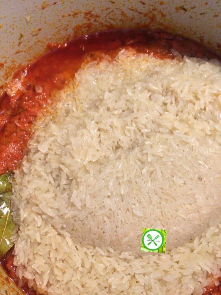 Jollof rice add rice
