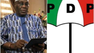 Photo of Atiku Abubakar finally returns to PDP