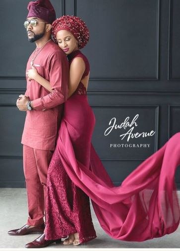 Photo of Adesua Etomi and Banky W make first public outing for 2018 (Photos)