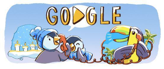 Photo of Google  celebrates New Year's Eve 2017 with creative Google Doodle