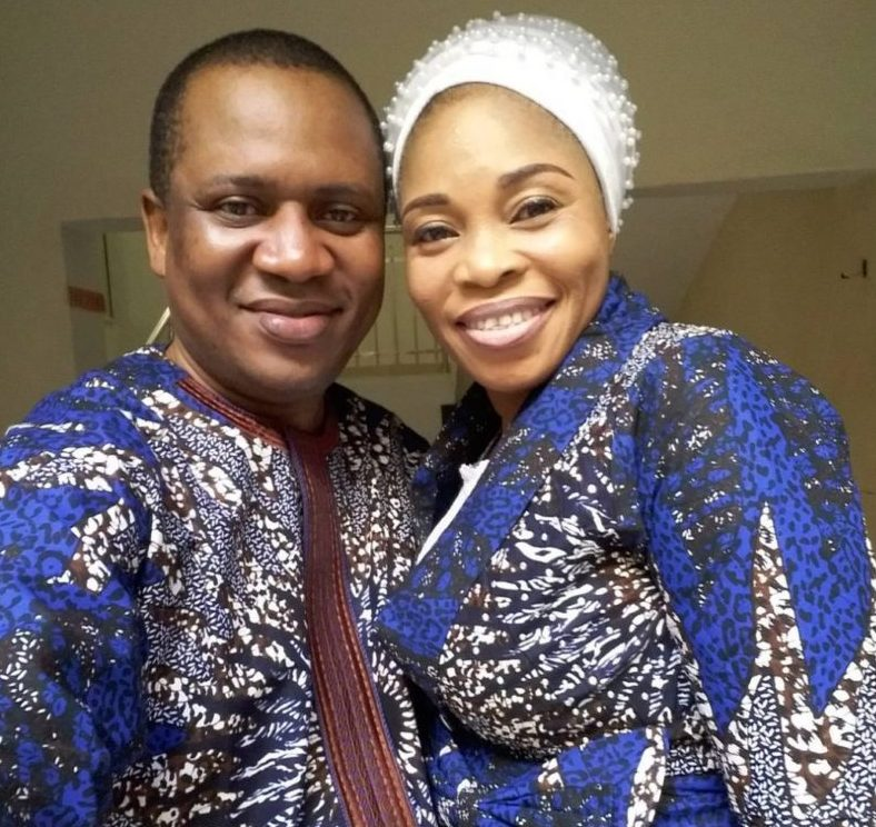 Tope Alabi and her husband