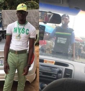 Photo of How a serving corps member was harassed and humiliated by SARS Official today (Photos)