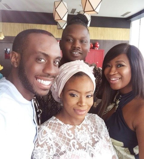 Photo of Dolapo Oni & Prince Sijuwade dedicate son (Photos)