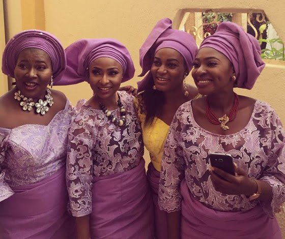 Photo of Photos from the traditional wedding of actress Oma Nnadi and her man