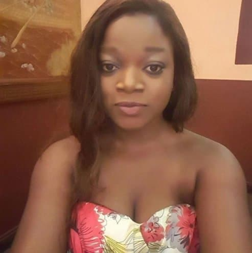 Photo of Nigerian actress, Zion, reveals what she did to a man who maltreated her